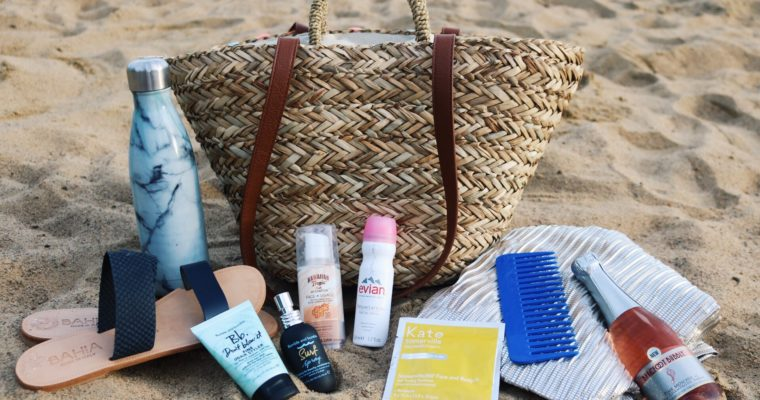 IT'S ALL IN THE (BEACH) BAG